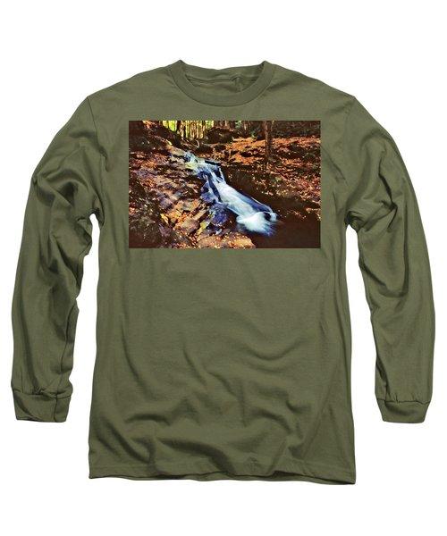 Small Falls 001 Long Sleeve T-Shirt by Scott McAllister