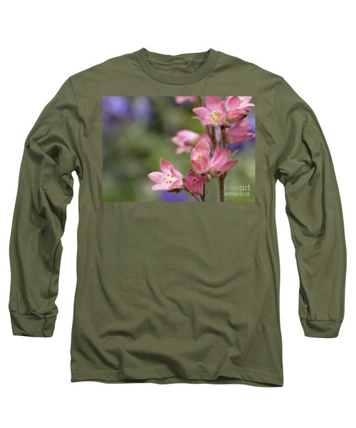 Small Flowers Long Sleeve T-Shirt by Tine Nordbred