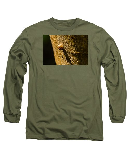 Small Snail On The Tree Long Sleeve T-Shirt