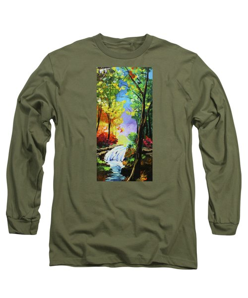 Small Waterfall Long Sleeve T-Shirt