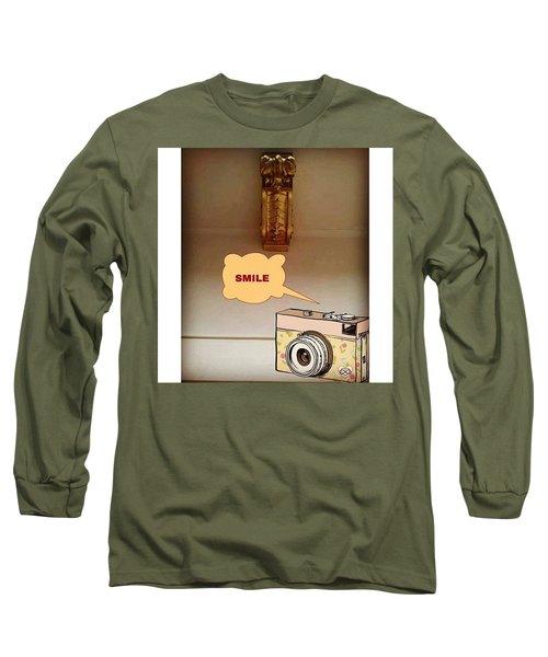 Smile, Send  Goodvibes  Long Sleeve T-Shirt