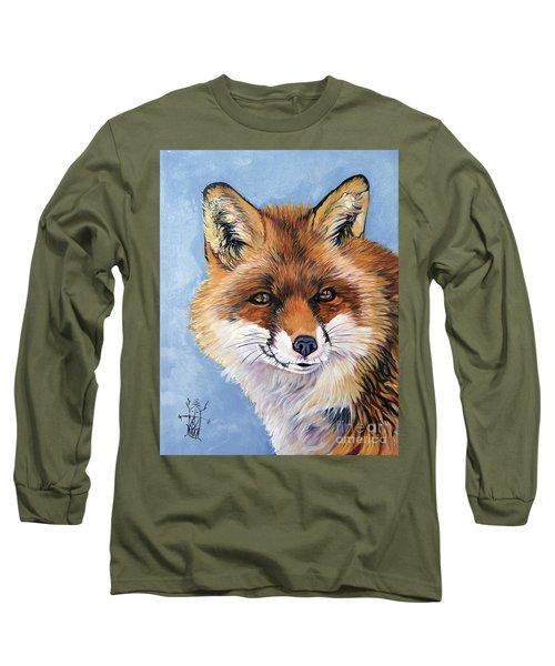 Smiling Fox Long Sleeve T-Shirt