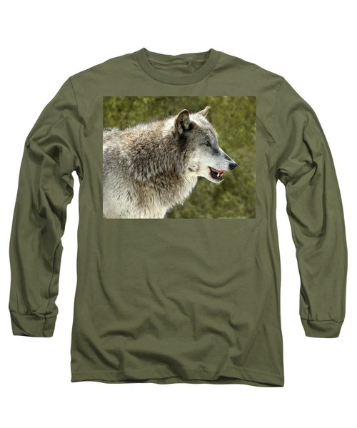 Smiling Wolf Long Sleeve T-Shirt