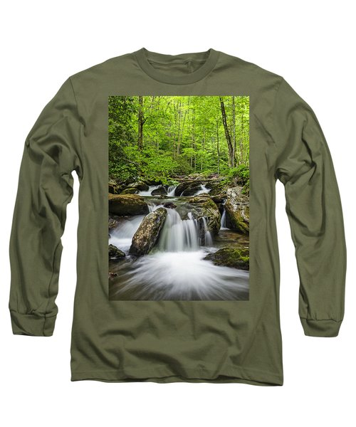 Smith Creek, Springtime Long Sleeve T-Shirt