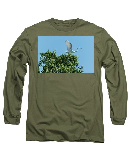 Long Sleeve T-Shirt featuring the photograph Smith Creek by Steven Richman
