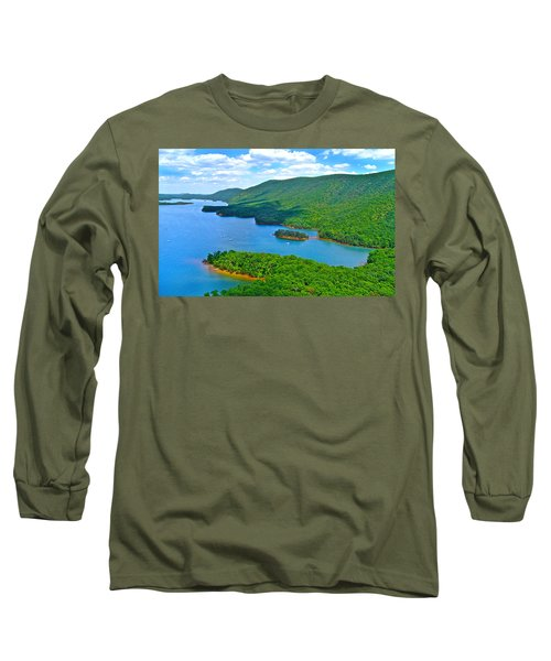 Smith Mountain Lake Poker Run Long Sleeve T-Shirt by American Shutterbug Soccity