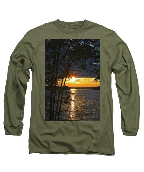 Smith Mountain Lake Summer Sunet Long Sleeve T-Shirt