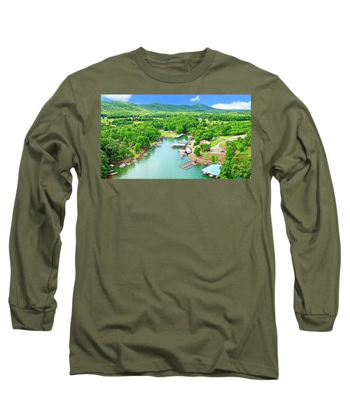 Smith Mountain Lake, Virginia. Long Sleeve T-Shirt