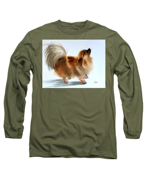 Smokey2 Long Sleeve T-Shirt