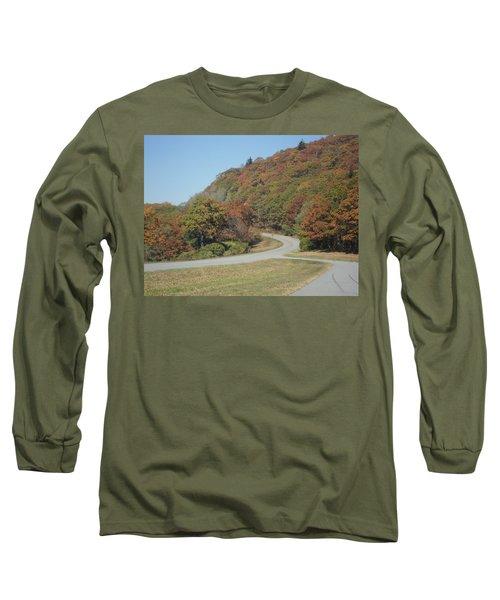 Smokies 9 Long Sleeve T-Shirt by Val Oconnor