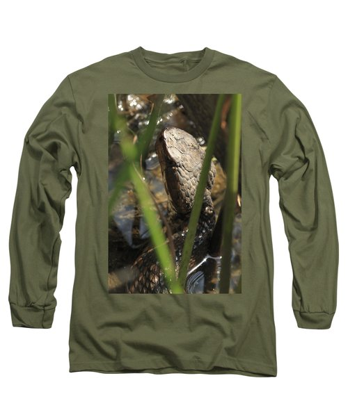 Snake In The Water Long Sleeve T-Shirt