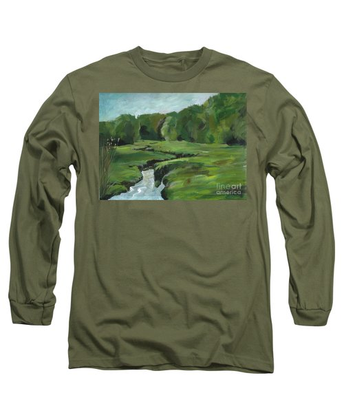 Snake Like Creek 2 Maine Long Sleeve T-Shirt