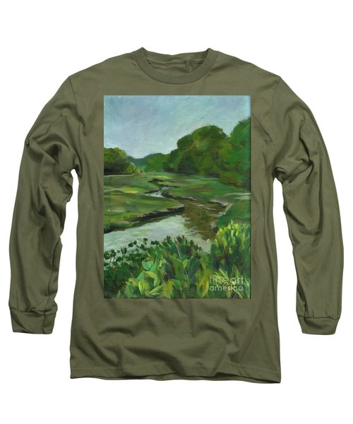 Snake Like Creek I Me Long Sleeve T-Shirt