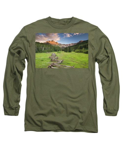 Sneffels Fence Horizontal Long Sleeve T-Shirt