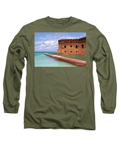 Snorkelers Fort Jefferson Long Sleeve T-Shirt