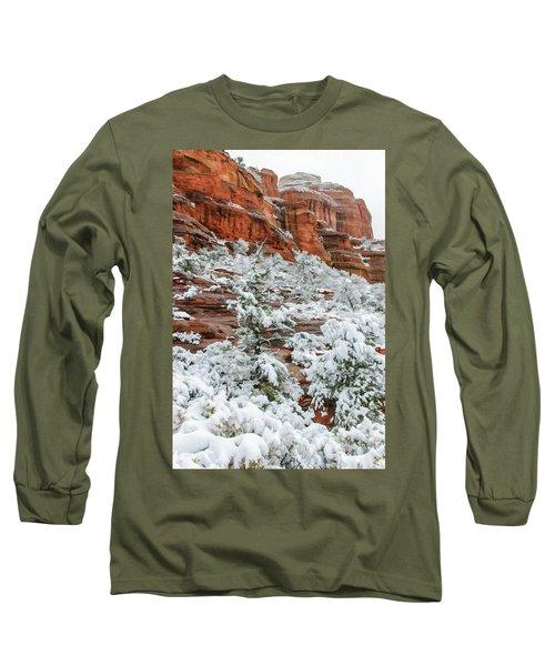Snow 06-051 Long Sleeve T-Shirt by Scott McAllister