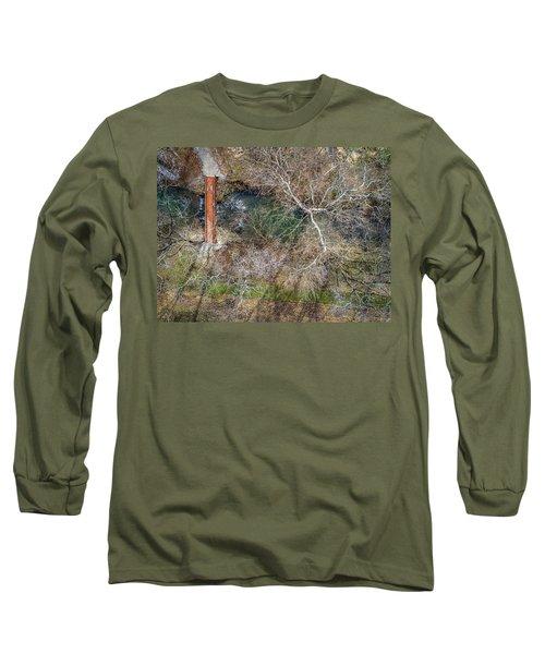 Snow Around The Creek Long Sleeve T-Shirt