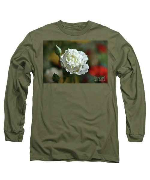 Long Sleeve T-Shirt featuring the photograph Snow White by Stephen Mitchell