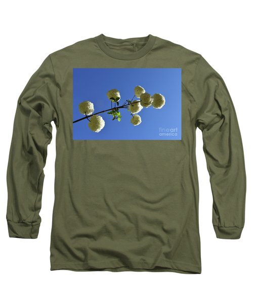 Long Sleeve T-Shirt featuring the photograph Snowballs On A Stick by Skip Willits