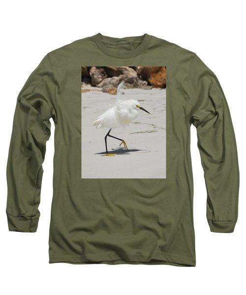 Snowy Egret 6429 Windy Long Sleeve T-Shirt