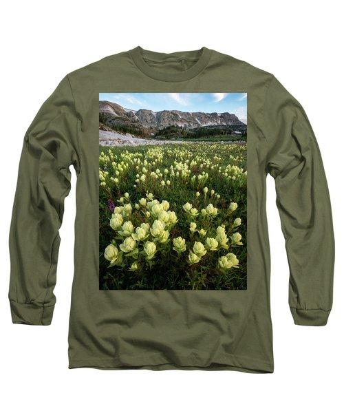 Snowy Range Paintbrush Long Sleeve T-Shirt