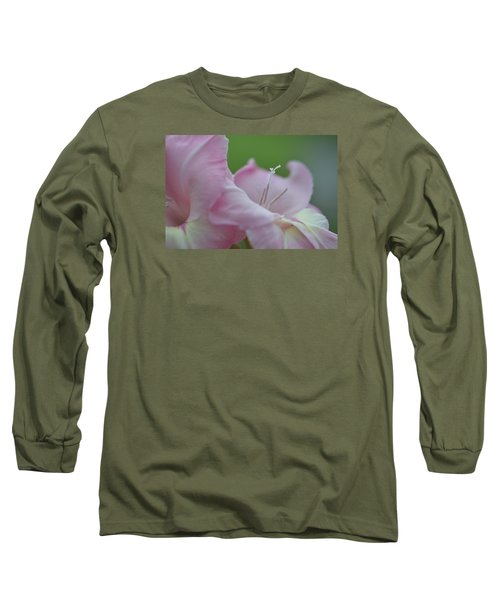 So Glad Long Sleeve T-Shirt by Teresa Tilley
