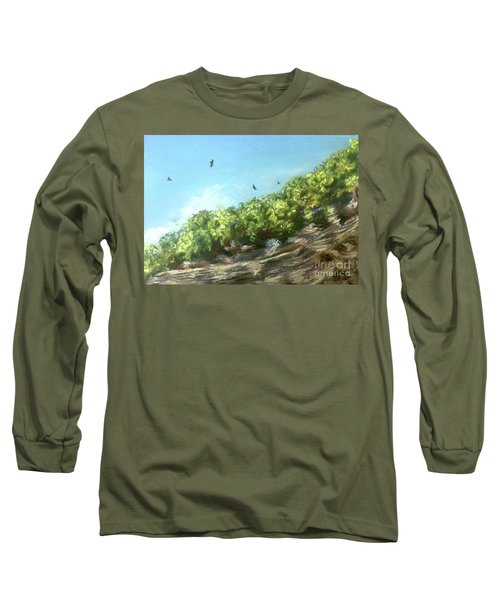 Soaring Above The North Rim Long Sleeve T-Shirt