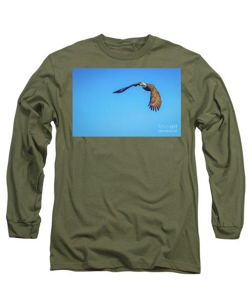 Soaring Eagle Long Sleeve T-Shirt by John Roberts