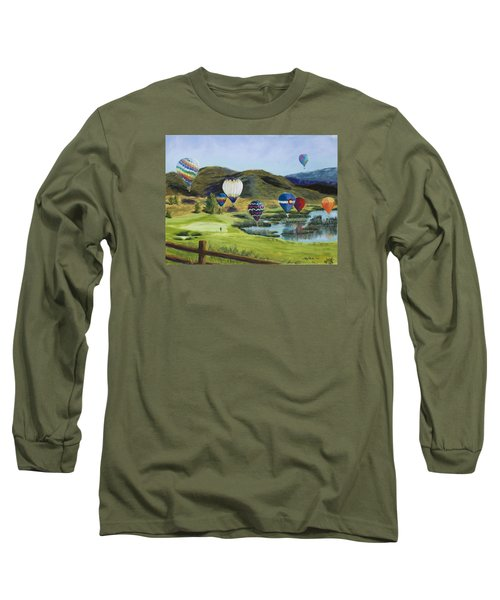 Soaring Over Colorado Long Sleeve T-Shirt