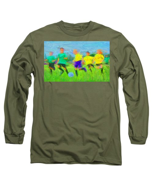 Soccer 3 Long Sleeve T-Shirt
