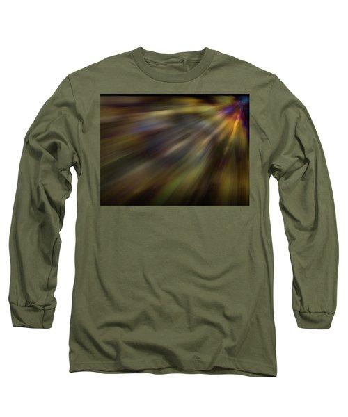 Soft Amber Blur Long Sleeve T-Shirt