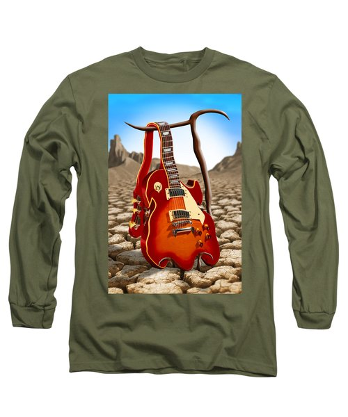 Soft Guitar Long Sleeve T-Shirt