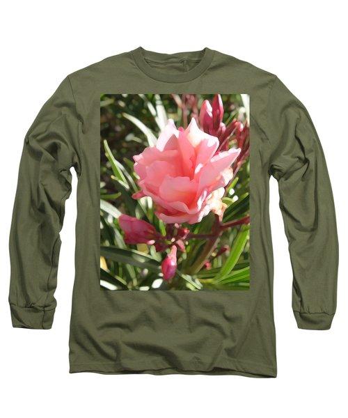 Soft Pink Blush Long Sleeve T-Shirt
