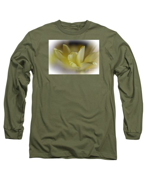 Soft Yellow Long Sleeve T-Shirt by Yumi Johnson