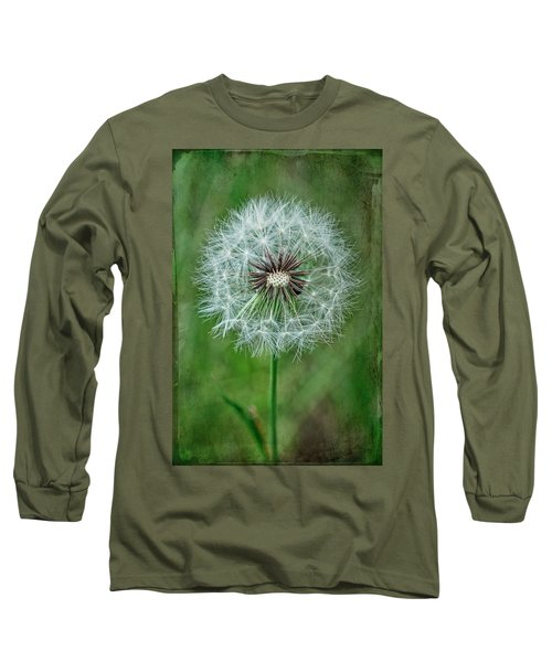 Long Sleeve T-Shirt featuring the photograph Softly Sitting by Jan Amiss Photography