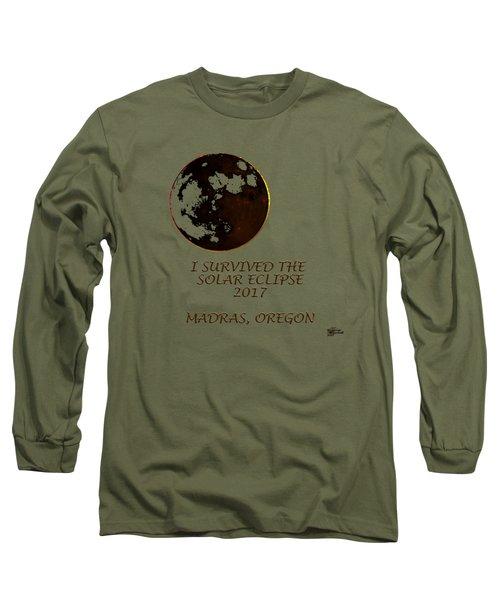 Solar Eclipse 2017 Long Sleeve T-Shirt