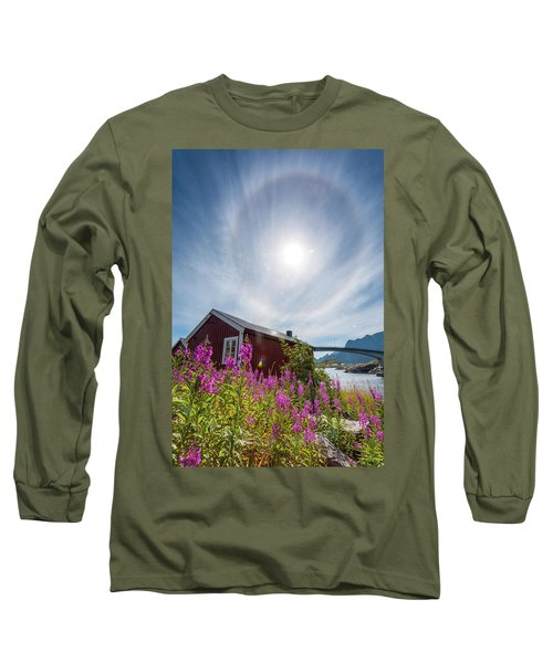 Solar Halo Above Rorbu Long Sleeve T-Shirt