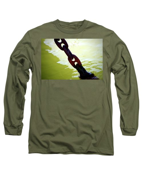 Solid 2 Long Sleeve T-Shirt by Newel Hunter