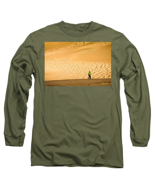 Solitude In The Dunes Long Sleeve T-Shirt