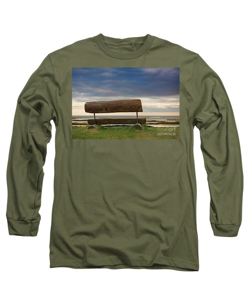 Long Sleeve T-Shirt featuring the photograph Solitude.. by Nina Stavlund