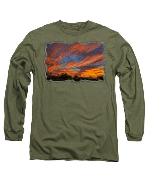 Sombrero Sunset Op27 Long Sleeve T-Shirt