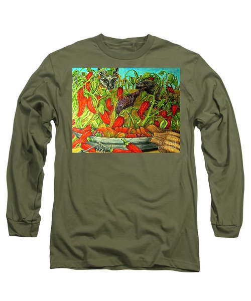 Somebodys Lucky Day Long Sleeve T-Shirt by Kim Jones