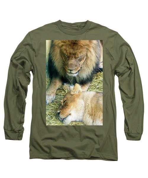 Someone To Watch Over Me Long Sleeve T-Shirt by David Stasiak