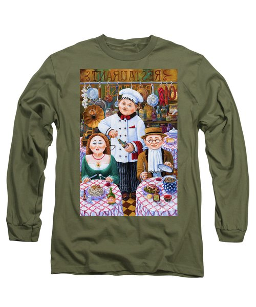 Something About Food 2 Long Sleeve T-Shirt