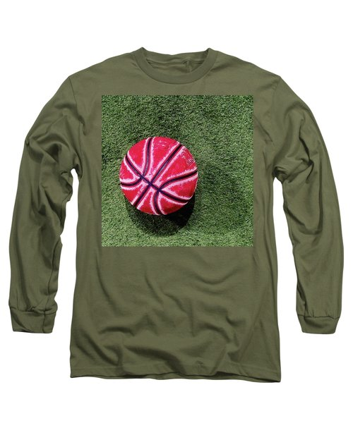 Something About This Bball Catches My Long Sleeve T-Shirt