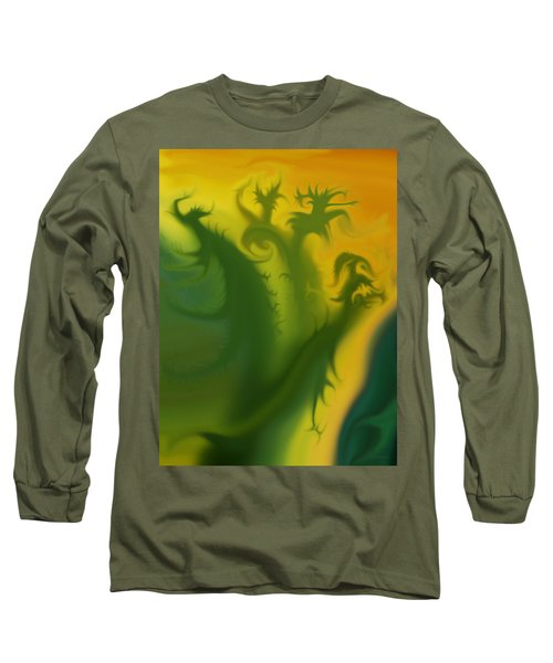 Something Green Long Sleeve T-Shirt