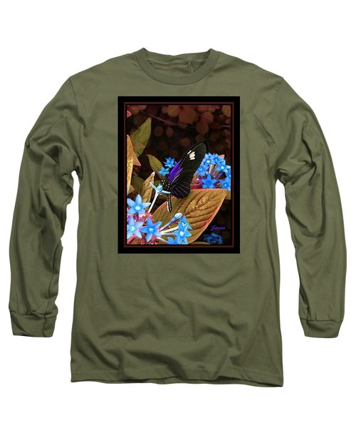 Long Sleeve T-Shirt featuring the photograph Something Sweet by Steven Lebron Langston