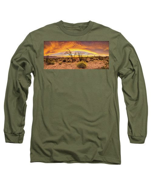 Long Sleeve T-Shirt featuring the photograph Somewhere Over by Peter Tellone