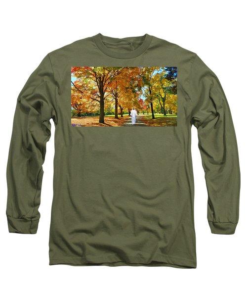 Son Of God Long Sleeve T-Shirt by Michael Rucker