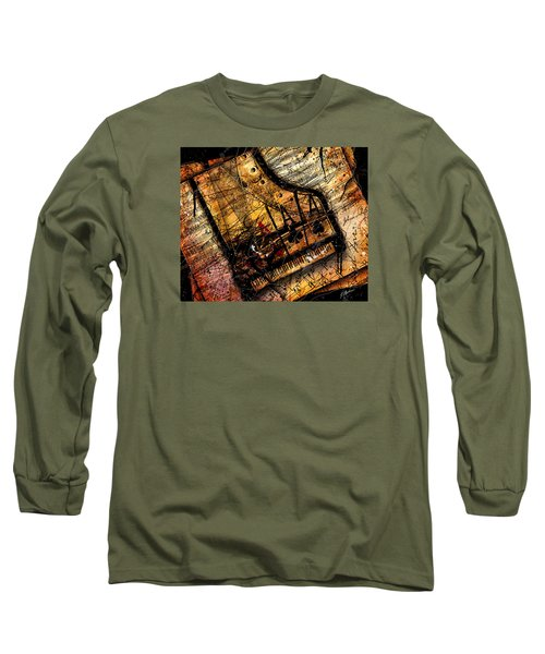 Sonata In Ace Minor Long Sleeve T-Shirt by Gary Bodnar